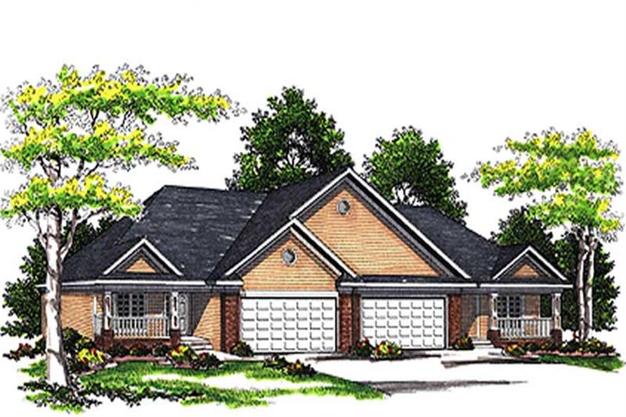 Main image for house plan # 17172