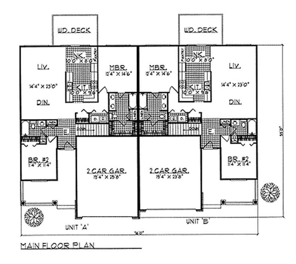 Large Images For House Plan 101 1766