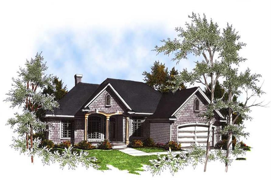 Main image for house plan # 13350