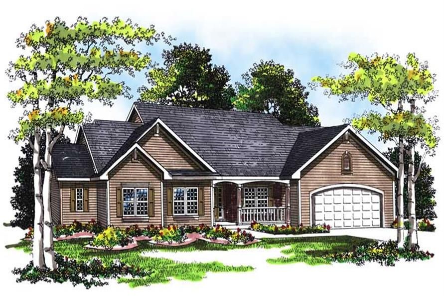 Main image for house plan # 13414