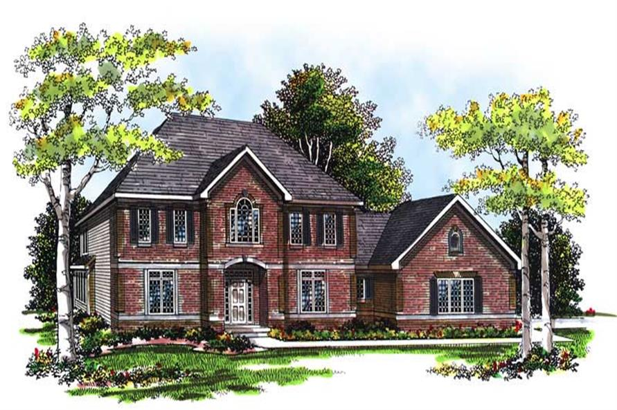 Main image for house plan # 13417