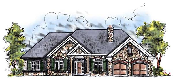Main image for house plan # 13425