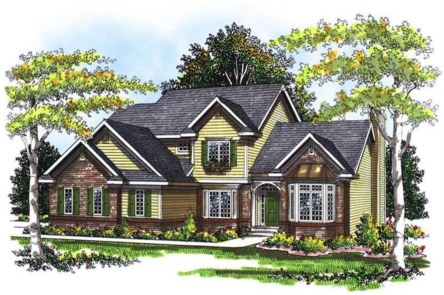 Main image for house plan # 13429