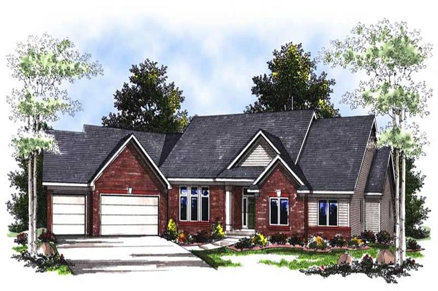 Main image for house plan # 13392