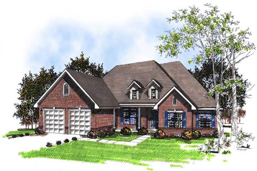 Main image for house plan # 13363