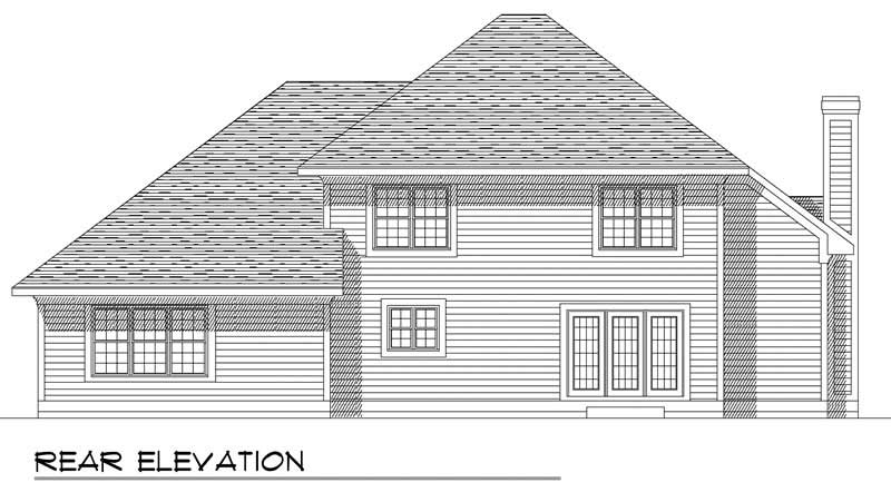 Country Home With 4 Bdrms 2523 Sq Ft House Plan 101 1797
