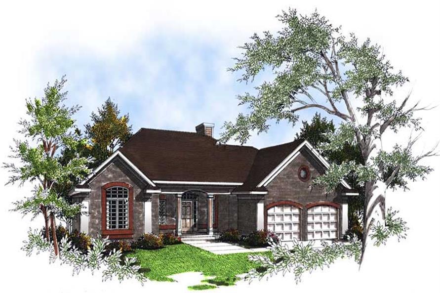 Main image for house plan # 13352