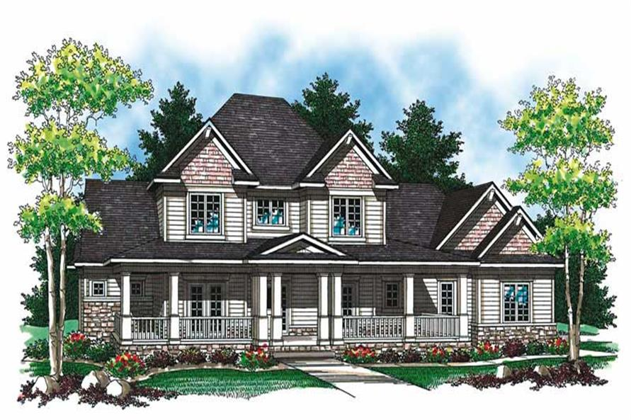 Main image for house plan # 19552