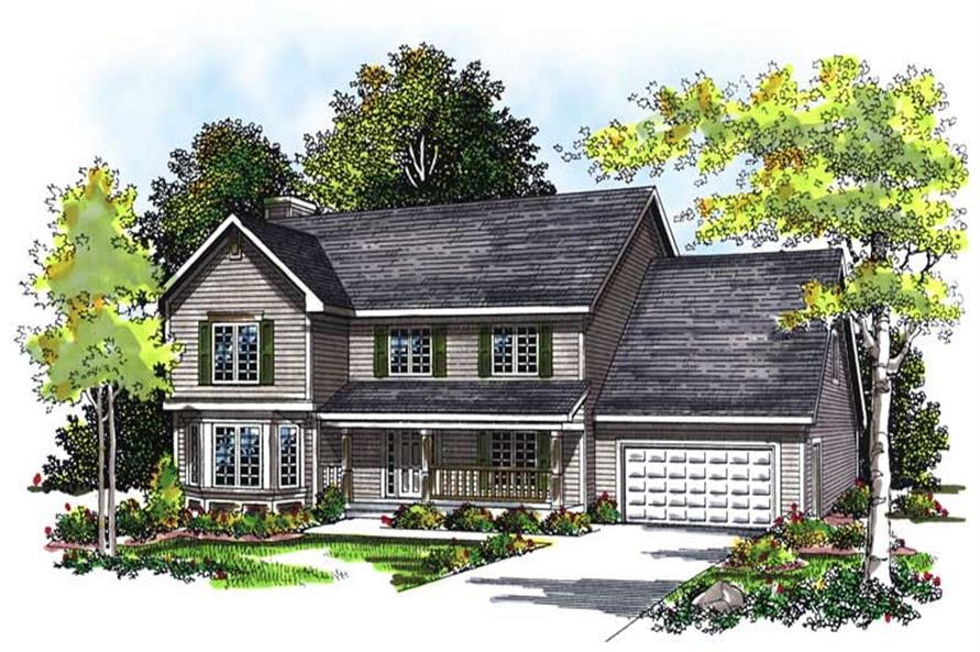 Main image for house plan # 13427