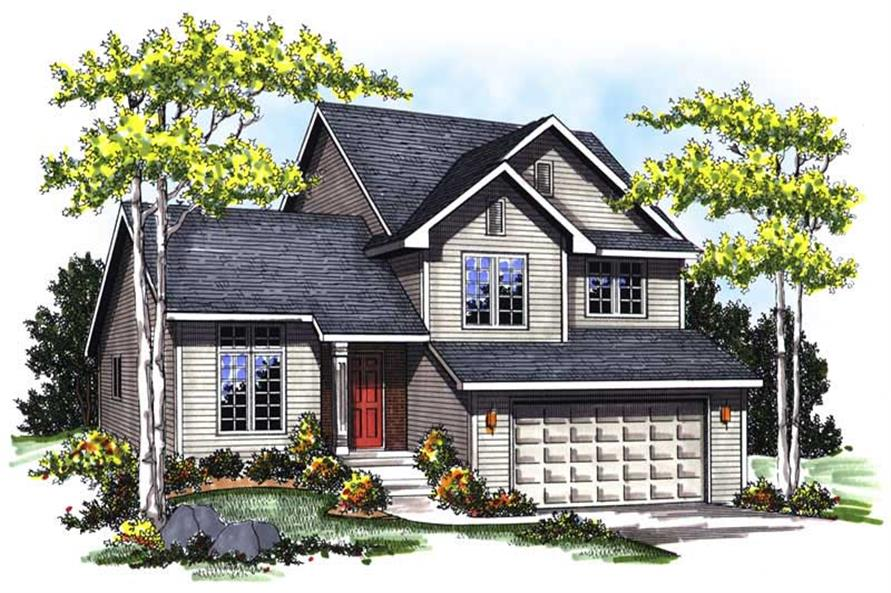 Main image for house plan # 13333