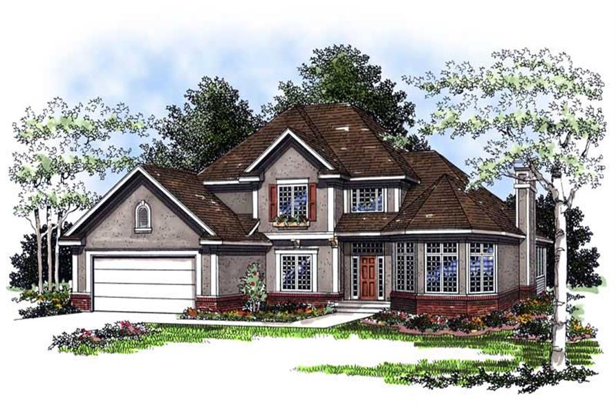 Main image for house plan # 13382