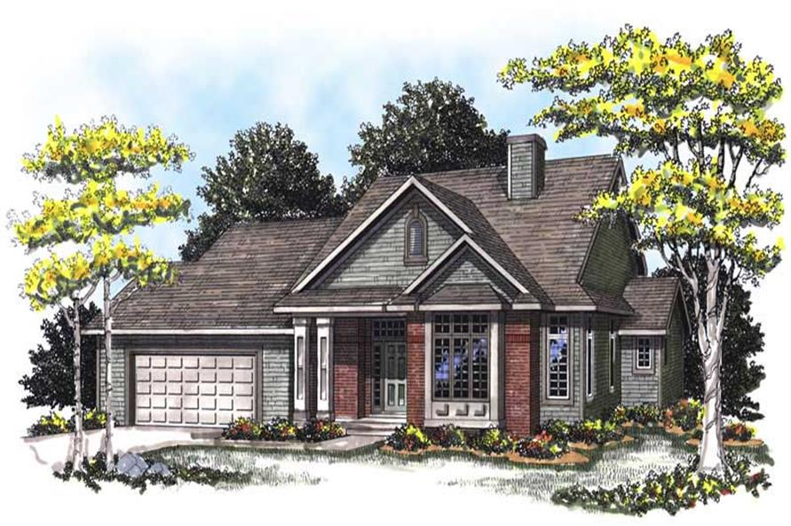 Main image for house plan # 13329