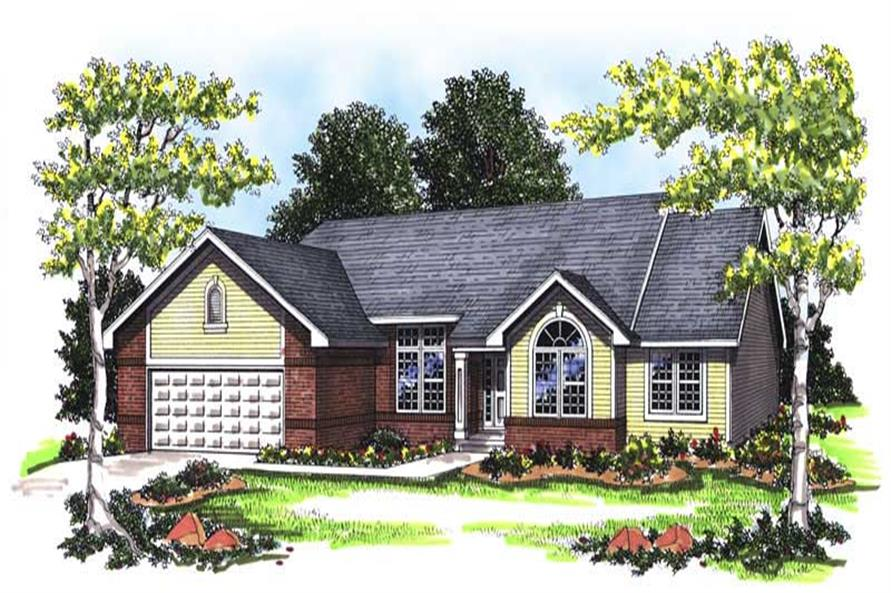 Main image for house plan # 13324