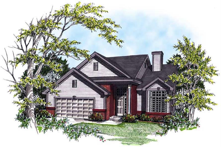 Main image for house plan # 13323