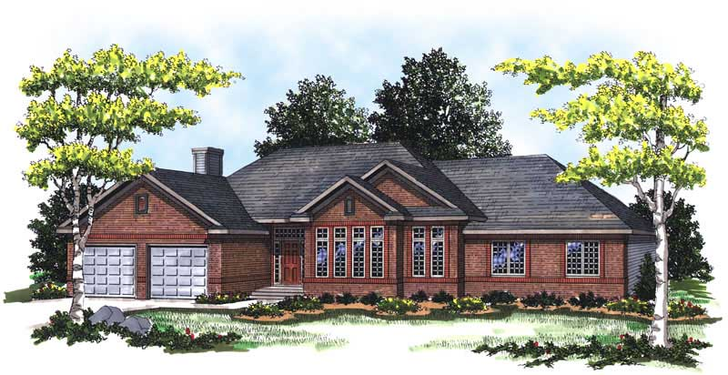 Ranch Home With 3 Bdrms 2015 Sq Ft House Plan 101 1812