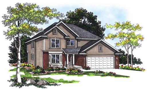 Main image for house plan # 13412