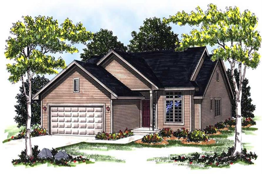 Main image for house plan # 13320