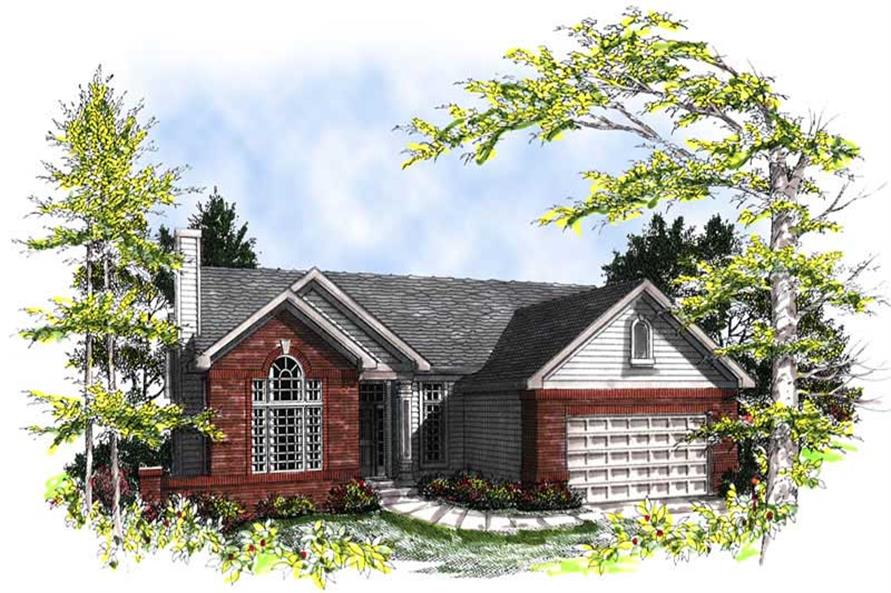 Main image for house plan # 13299