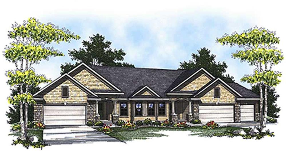 Main image for house plan # 17190
