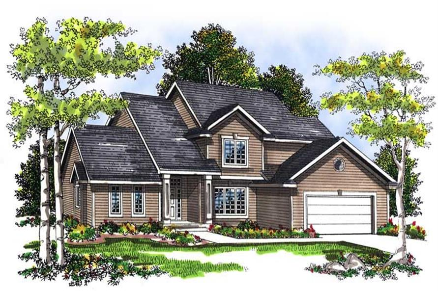 Main image for house plan # 13446