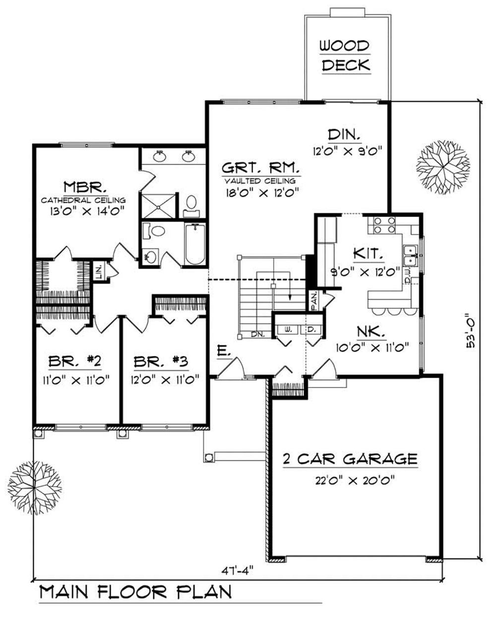 House Design 101: Large Images For House Plan 101-1830