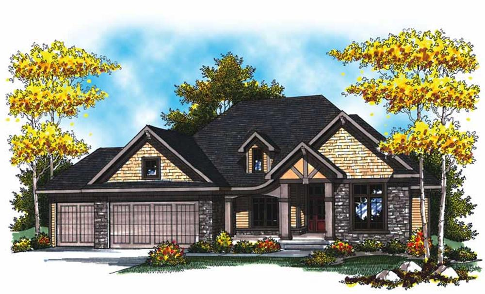 Main image for house plan # 17011