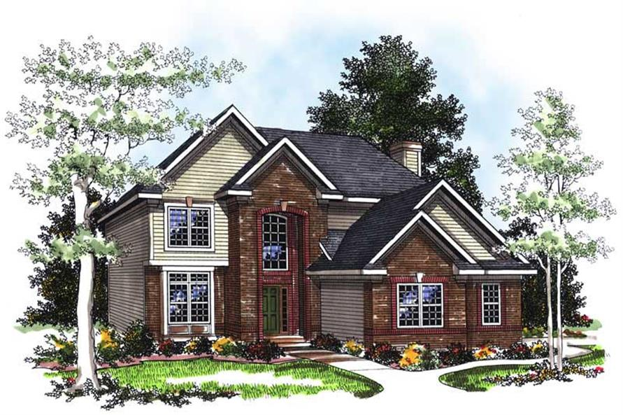 Main image for house plan # 13385