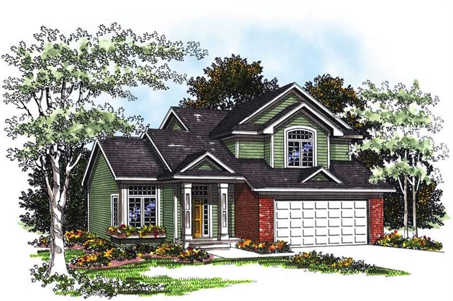 Main image for house plan # 13374