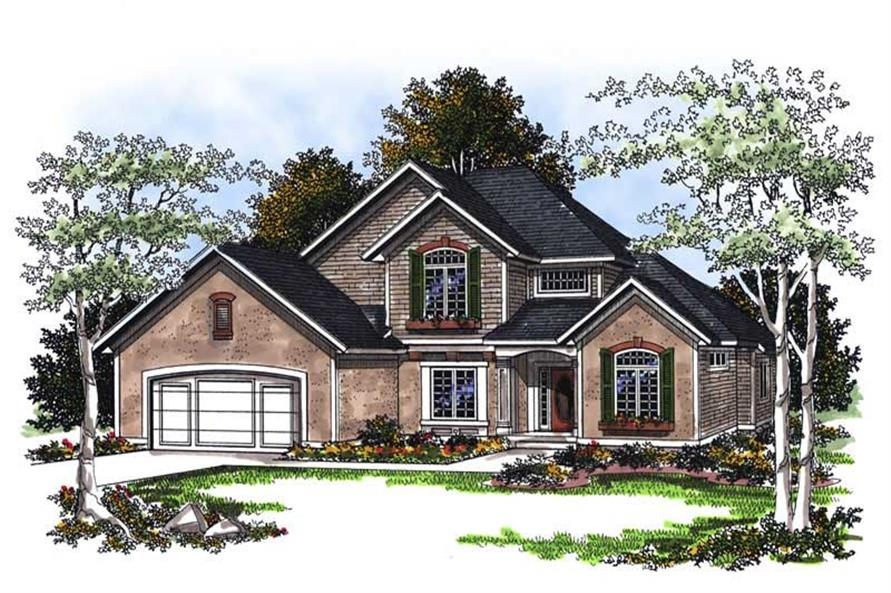 Main image for house plan # 13380