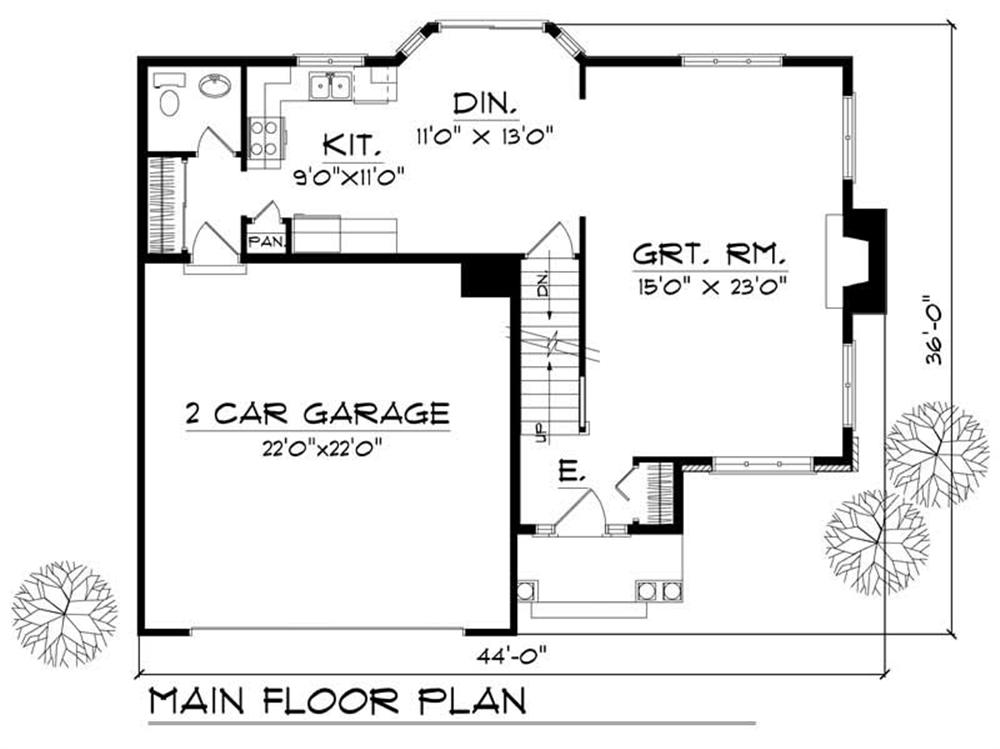 Large images for house plan 101 1848 for Home design 101
