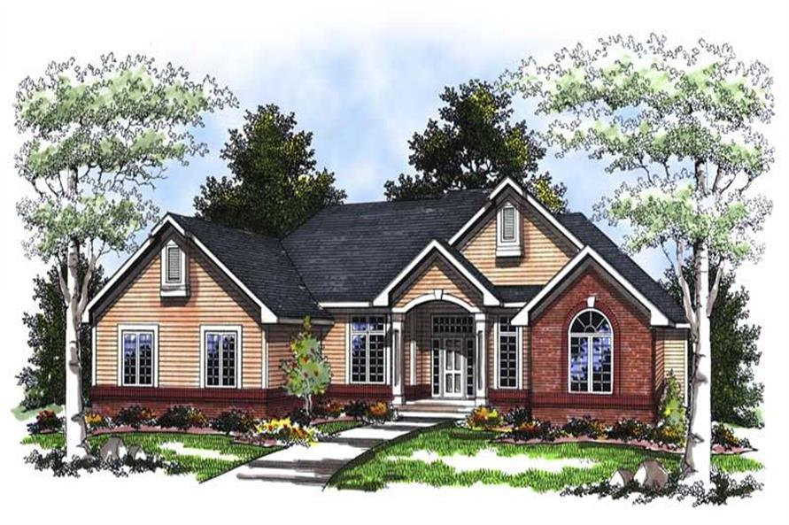Main image for house plan # 13395