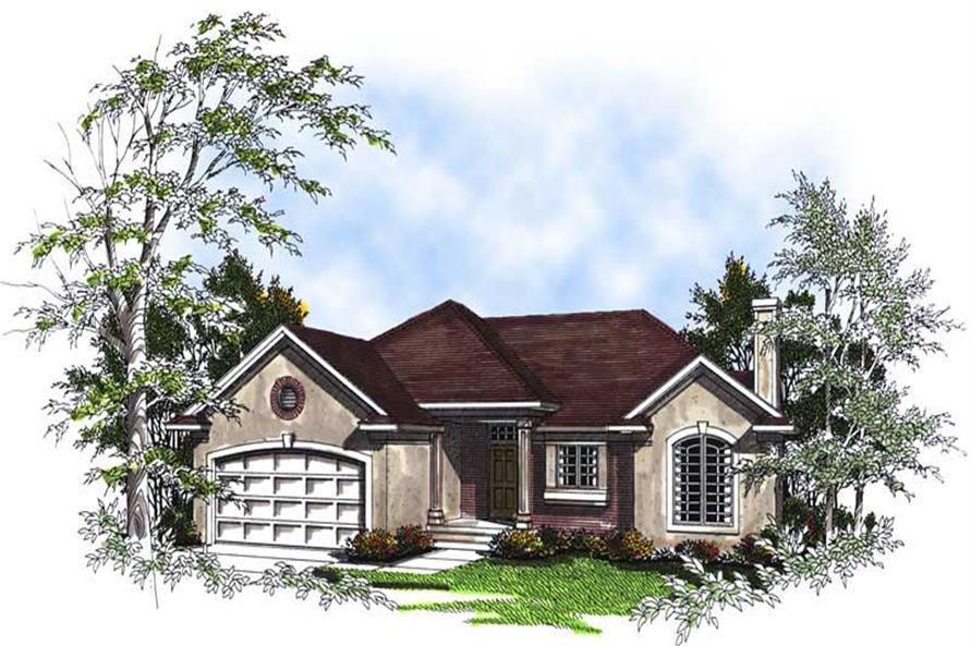 Main image for house plan # 13365
