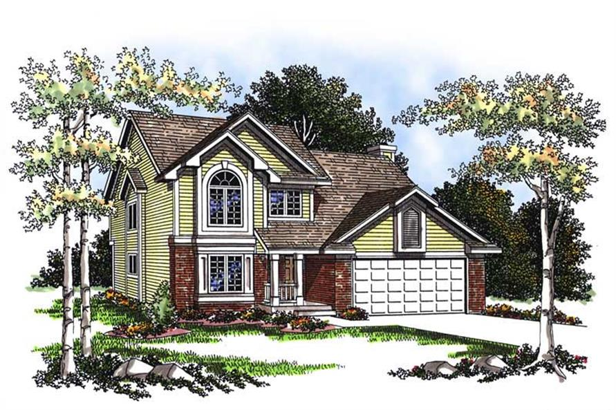 Main image for house plan # 13371
