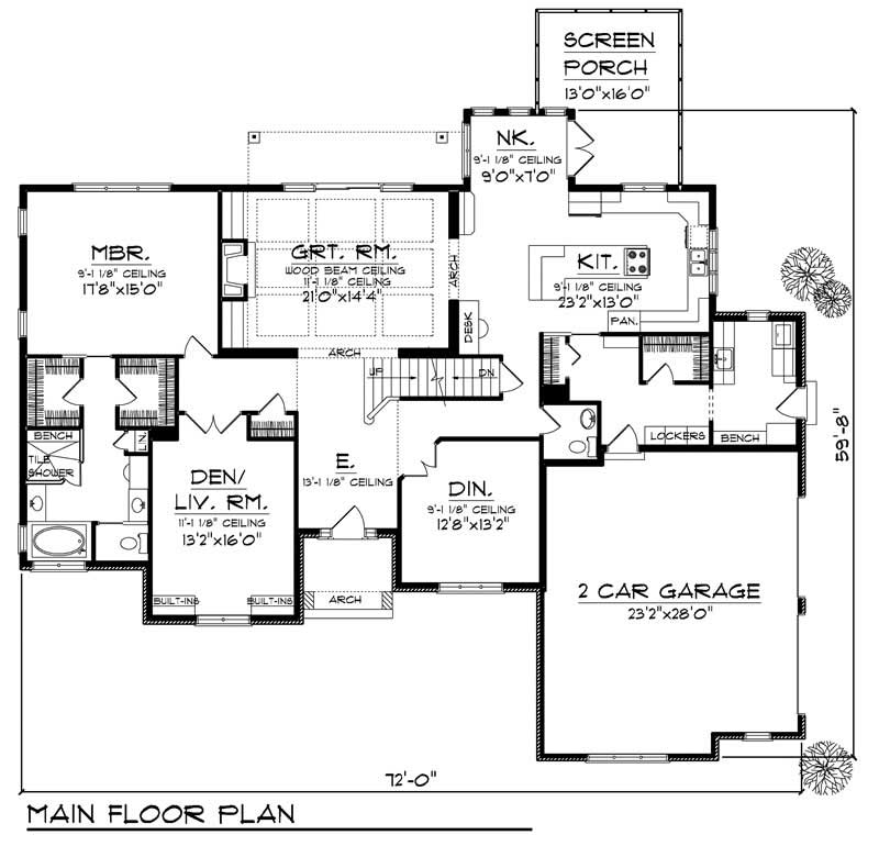 House Design 101: European Home With 4 Bdrms, 3207 Sq Ft
