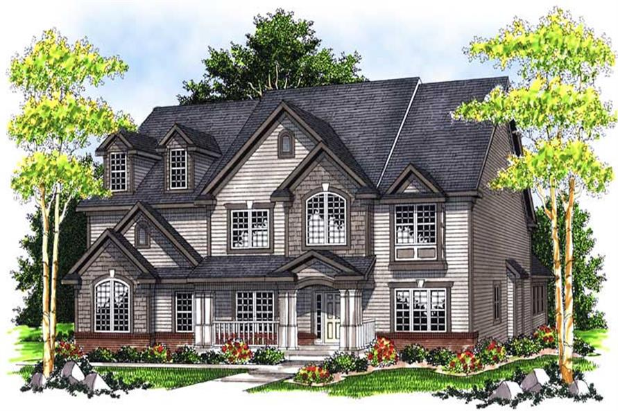 Main image for house plan # 13965