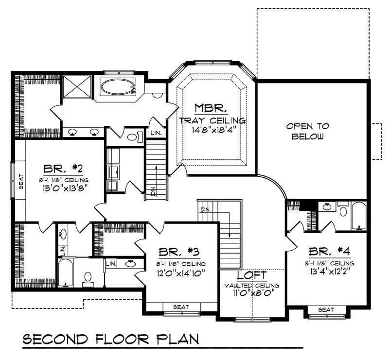 layout of house luxury home with 4 bdrms 3687 sq ft floor plan 101 1862 13965