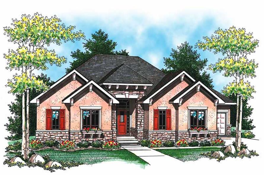 Main image for house plan # 19490
