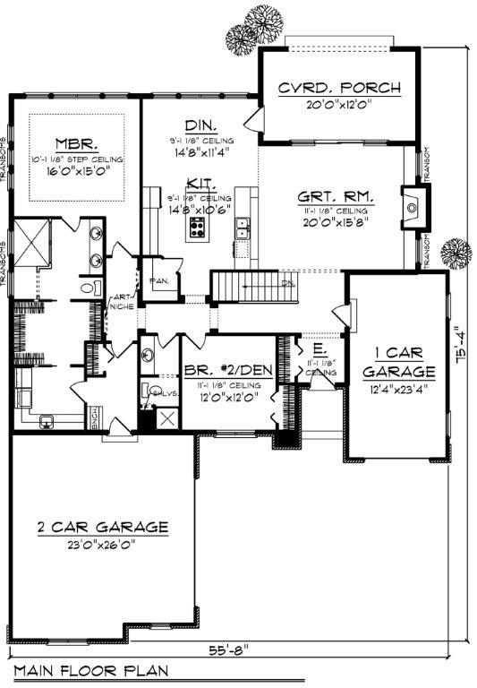 101-1867: Floor Plan Main Level