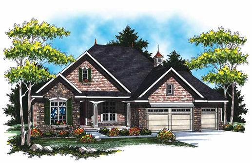 Main image for house plan # 17006