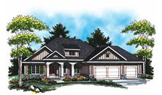Main image for house plan # 16995
