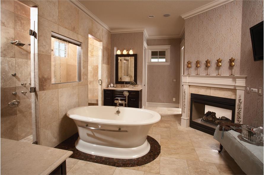 101-1874: Home Interior Photograph-Master Bathroom