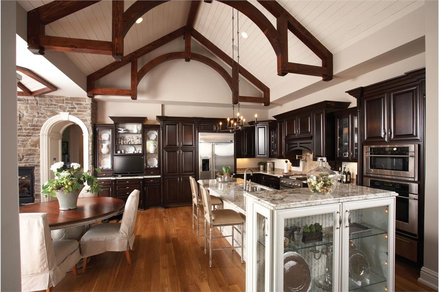 Open high ceiling house plans - House plans high ceilings ...