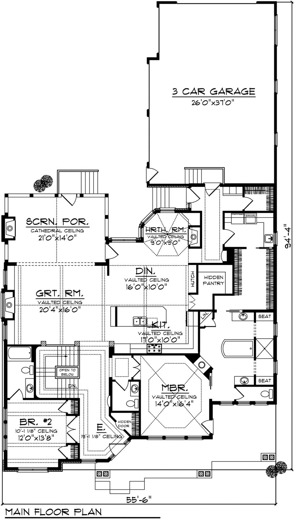 101-1874: Floor Plan Main Level