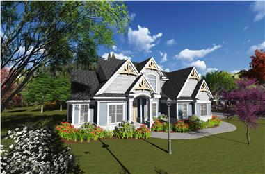 4-Bedroom, 3004 Sq Ft Southern Home Plan - 101-1893 - Main Exterior