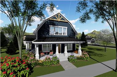 3-Bedroom, 2025 Sq Ft Southern House Plan - 101-1945 - Front Exterior