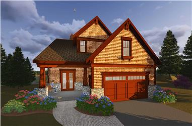 5-Bedroom, 4610 Sq Ft Farmhouse House Plan - 101-1959 - Front Exterior