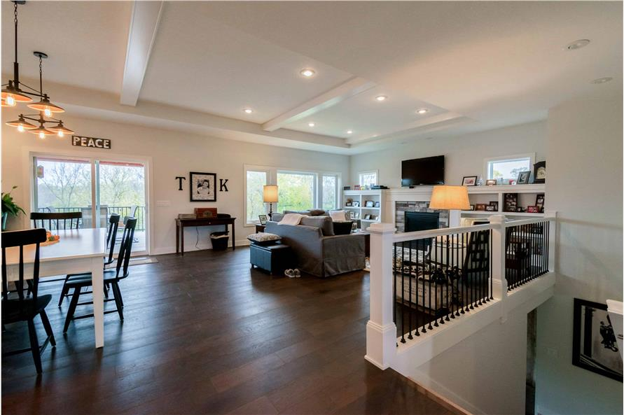 Great Room of this 2-Bedroom,2224 Sq Ft Plan -101-1977