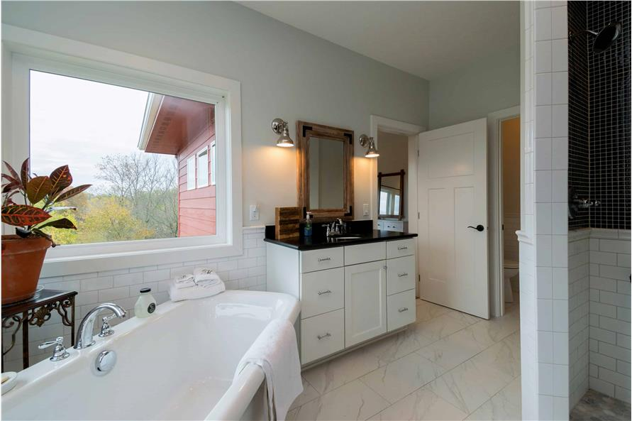 Master Bathroom of this 2-Bedroom,2224 Sq Ft Plan -101-1977