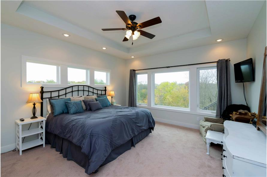 Master Bedroom of this 2-Bedroom,2224 Sq Ft Plan -101-1977