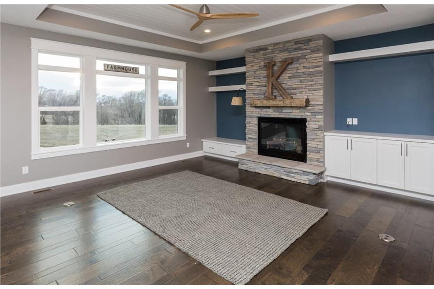 Great Room of this 3-Bedroom,2005 Sq Ft Plan -101-1998
